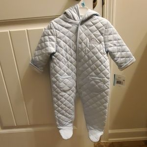 Baby Boy OnePiece Quilted Outerwear